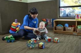 Reading to Infant