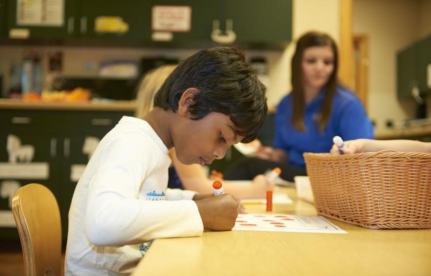 Preschoolers Writing