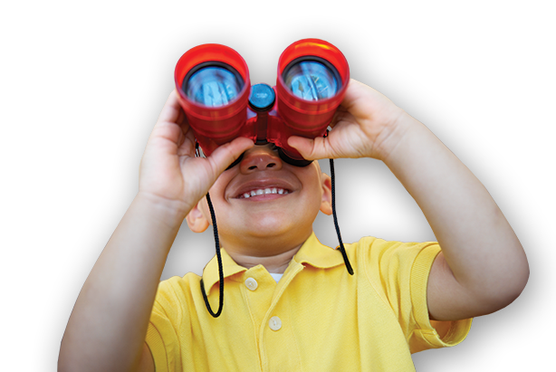 Binoculars Boy