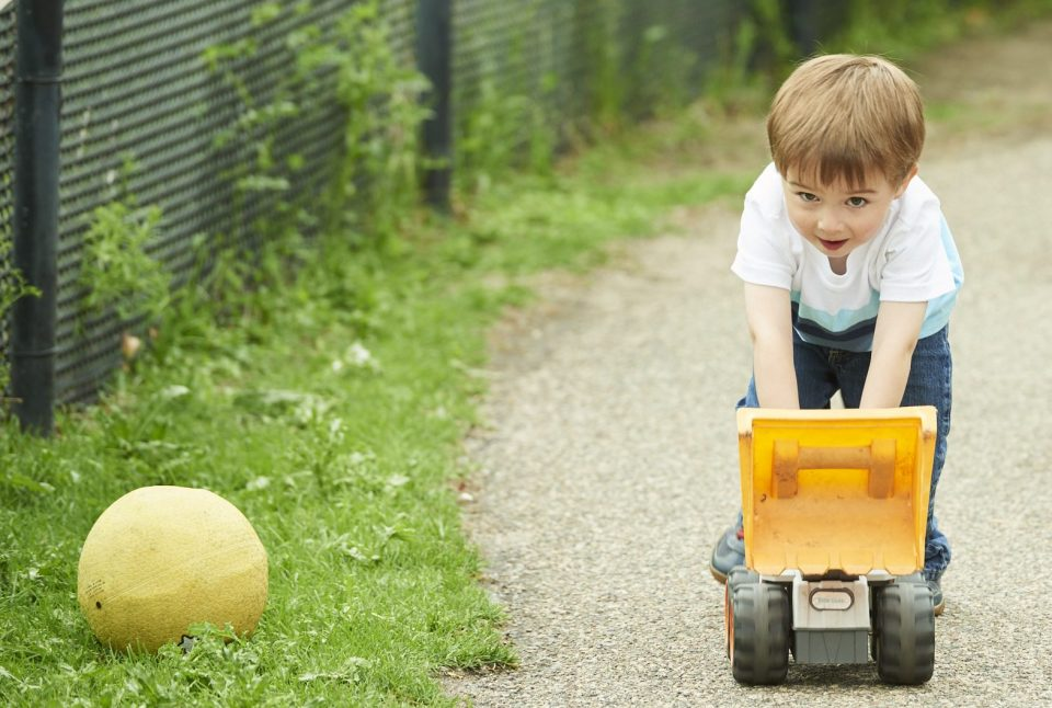 Toddler Outdoor Play