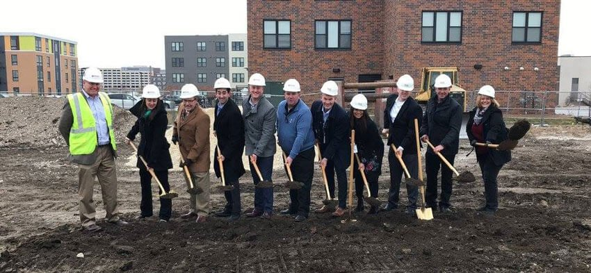 Downtown Des Moines Groundbreaking